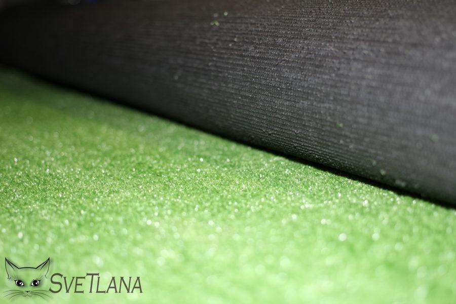 Трава искусственная в рулоне